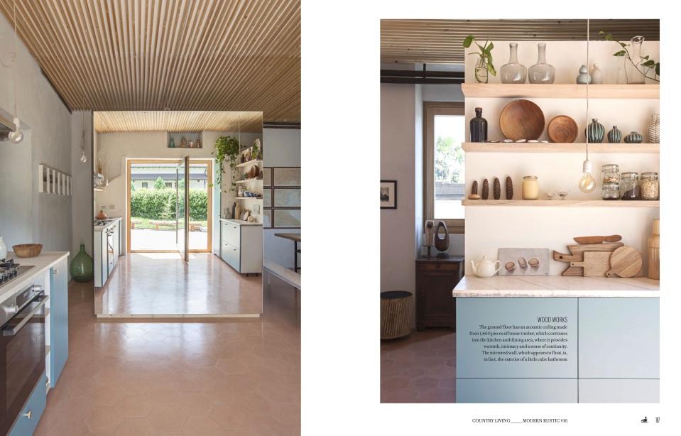 Riccardo Monte house Modern Rustic (PDF Spread)