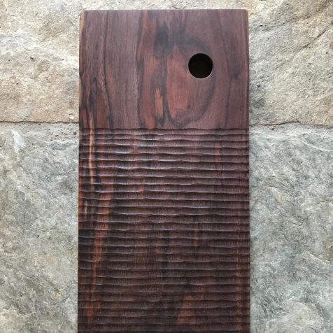 Handcarved Timber Serving Board